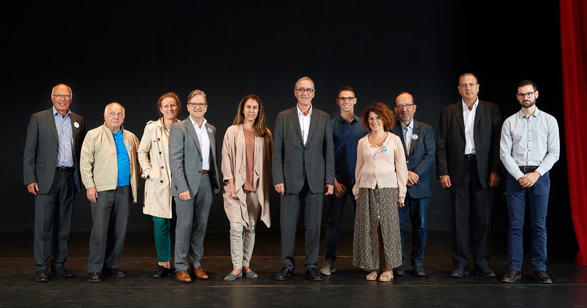 Photo de groupe des membres du CCQ Centre ville.