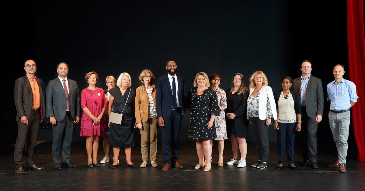 Photo de groupe des membres du CCQ Écluse-Belvédère.