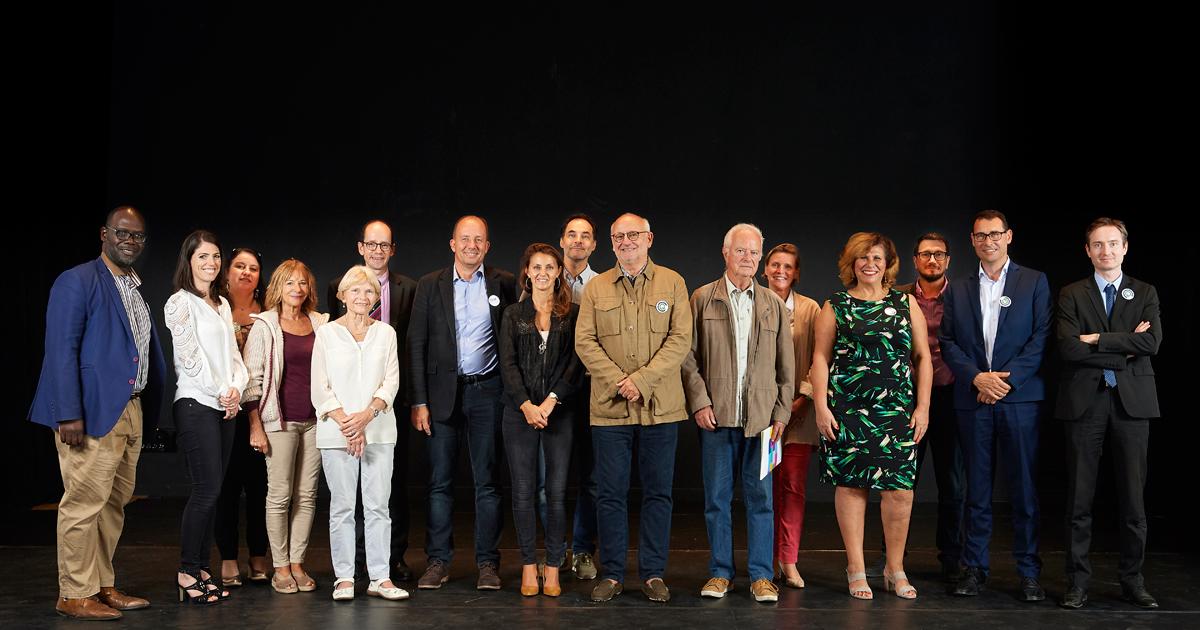 Photo de groupe des membres du CCQ Liberté.