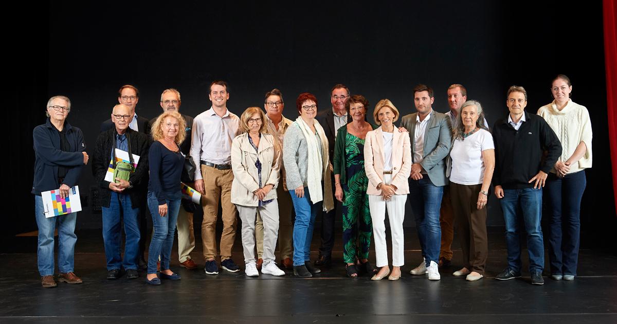 Photo de groupe des membres du CCQ Mont-Valérien.