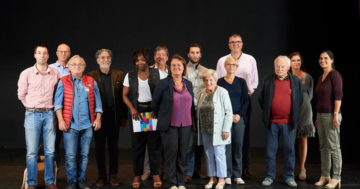 Photo de groupe des membres du CCQ République.