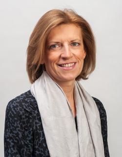 Isabelle Florennes, présidente du CCQ Mont-Valérien.