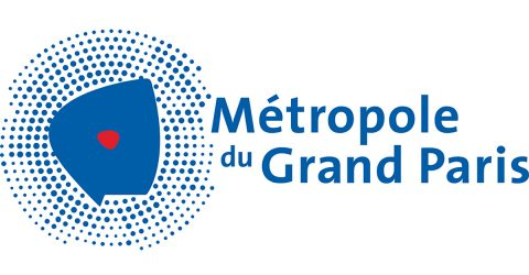 Logo de la Métropole du Grand Paris.
