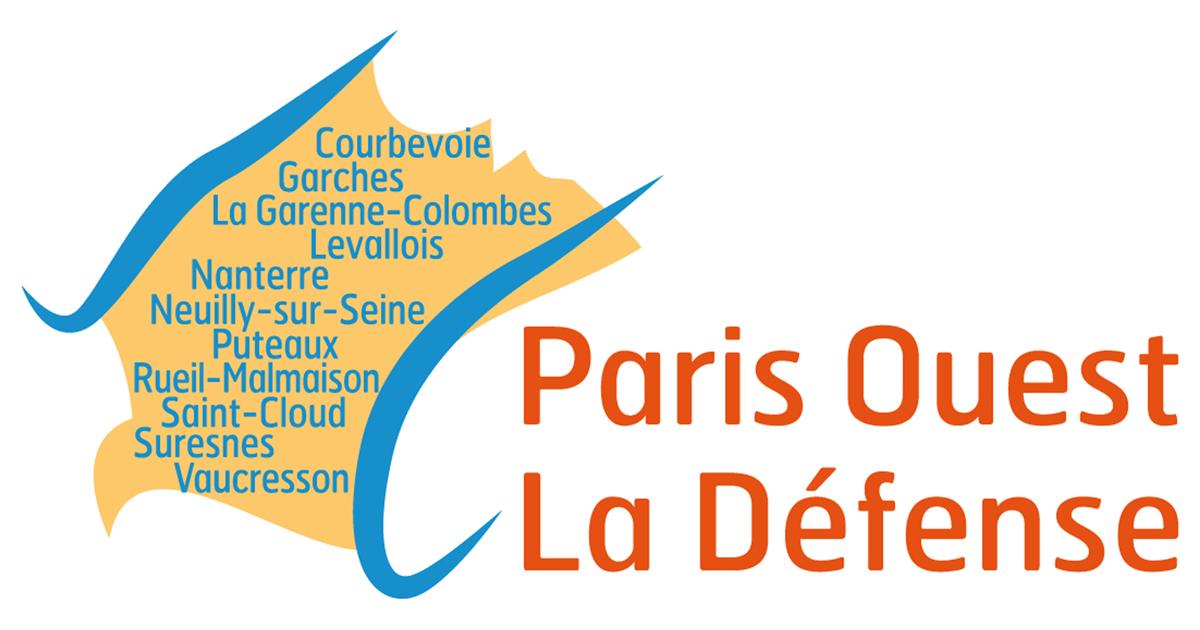 Logo du territoire Paris ouest la Défense.