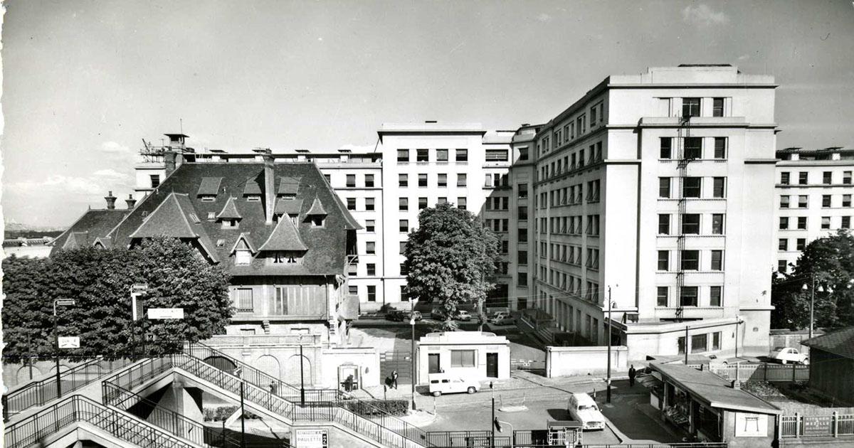 Image ancienne de l'Hôpital Foch