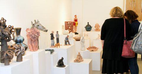 Salle d'exposition de la galerie artcad.
