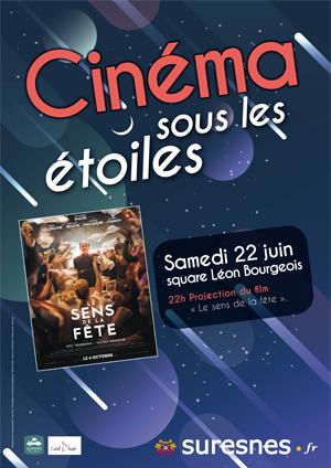 Affiche du Cinéma sous les étoiles