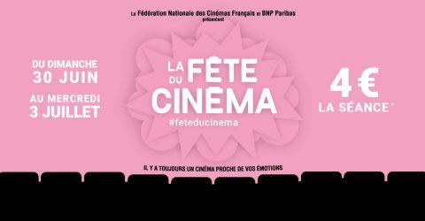 Visuel de la Fête du cinéma 2019