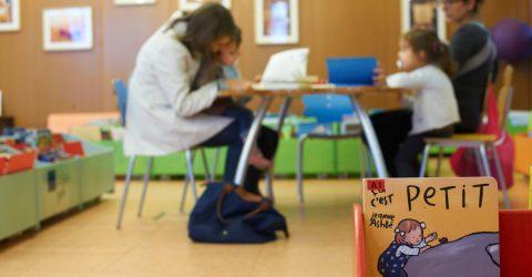 Salle de lecture des enfants.