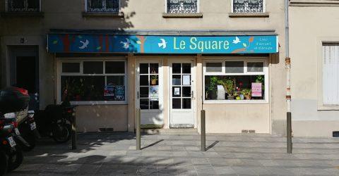 Vue de la façade du Square.