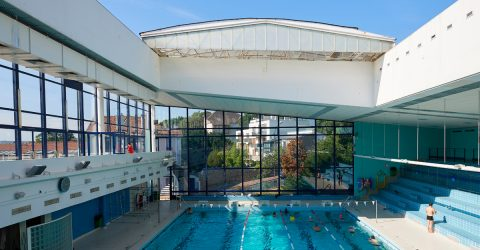 Photo de la piscine de Suresnes.