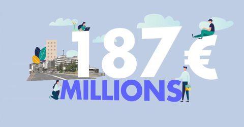 Image de présentation de la vidéo du budget en motion design.