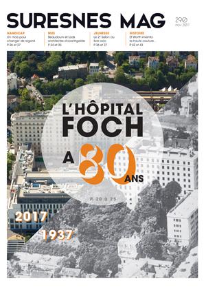 Couverture du Suresnes magazine de novembre 2017.