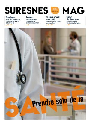 Couverture du Suresnes magazine de novembre 2018.
