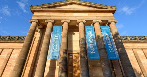 Photographie de la galerie nationale d'Ecosse.
