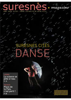 Couverture du Suresnes magazine de janvier 2015.