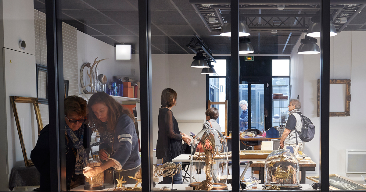 Image de présentation de la vidéo de la journée portes ouvertes de la Galerie la Verrière 2019.