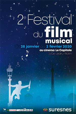 Affiche du 2e Festival du film musical
